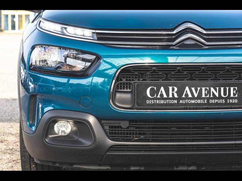 Occasion CITROEN C4 Cactus PureTech 110ch  Feel BVA Garantie 1 an 2018 Emeraude Blue (N) 14790 € à Mulhouse