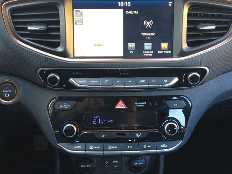 Occasion HYUNDAI Ioniq Electric EV 120ch Creative GPS Liv possible 2018 Polar White 17490 € à Colmar