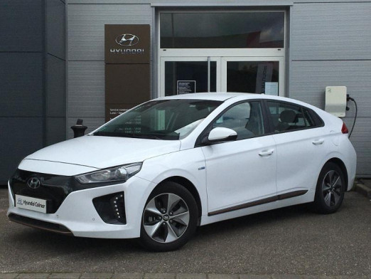 Occasion HYUNDAI Ioniq Electric EV 120ch Creative GPS Liv possible 2018 Polar White 17 490 € à Colmar
