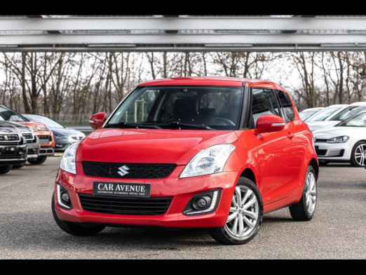 Occasion SUZUKI Swift 1.2 95 Confort 5p Liv. Possible 2015 Bright Red 8 490 € à Colmar