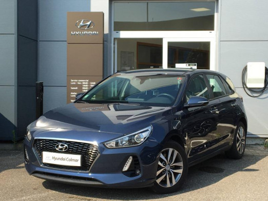 Used HYUNDAI i30 140 Business DCT-7 Liv Possible 2017 Stargazing Blue € 13,490 in Colmar