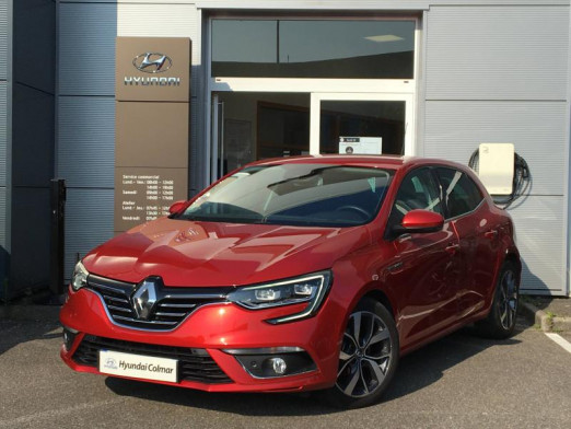 Used RENAULT Megane 1.2 TCe 130ch energy Intens 2016 Rouge Flamme € 12,990 in Colmar