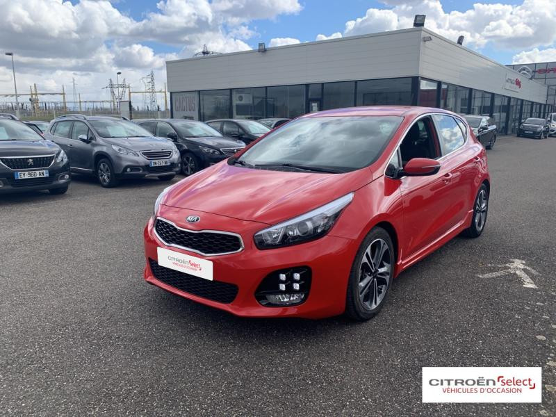 Occasion KIA Cee'd 1.0 T-GDi 120ch ISG GT Line 2017 Rouge 12900 € à Mulhouse