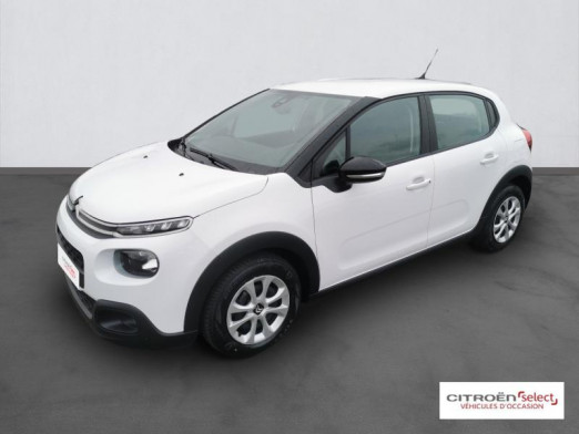 Used CITROEN C3 BlueHDi 75ch Feel S&S 2018 Blanc Banquise € 10,890 in Mulhouse