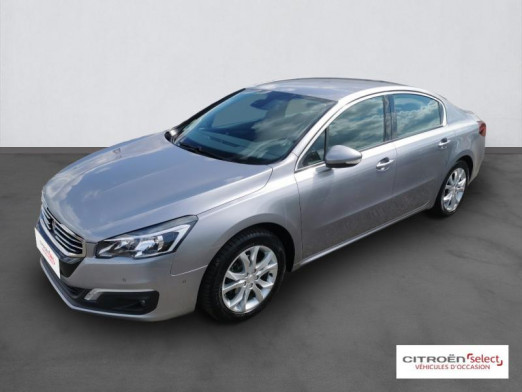 Used PEUGEOT 508 1.6 BlueHDi 120ch Allure S&S EAT6 2018 Gris Artense € 15,990 in Mulhouse