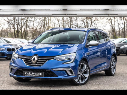 Used RENAULT Megane Estate 1.6 Energy dci 130 GT LINE 2016 Bleu Cosmos € 14,990 in Mulhouse
