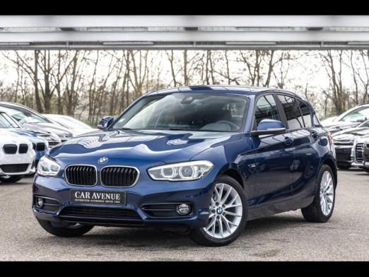 Occasion BMW Série 1 118i  Sport Line 136 GPS 2016 Bleu 18490 € à Mulhouse
