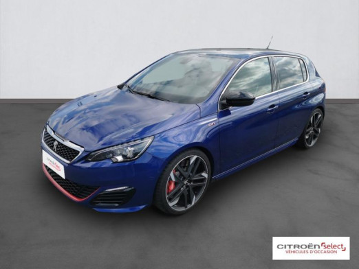 Used PEUGEOT 308 1.6 THP 270ch GTi S&S 5p 2017 Bleu Magnetic € 22,490 in Mulhouse