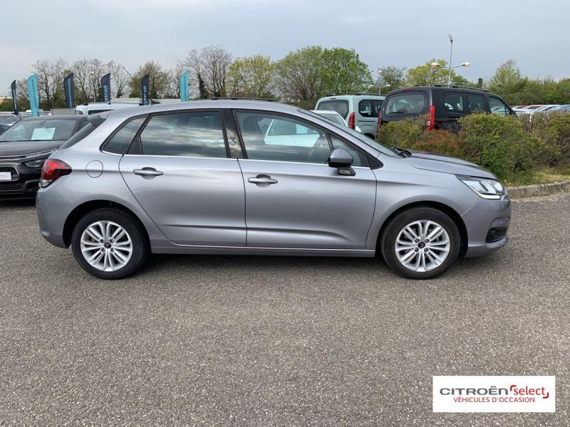 Occasion CITROEN C4 BlueHDi 120ch Millenium Business S&S EAT6 2017 Gris Acier (M) 11990 € à Mulhouse