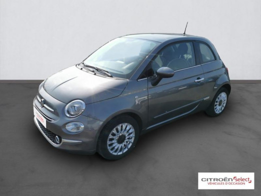 Used FIAT 500 1.2 8v 69ch Eco Pack Lounge 2019 Gris € 10,900 in Mulhouse
