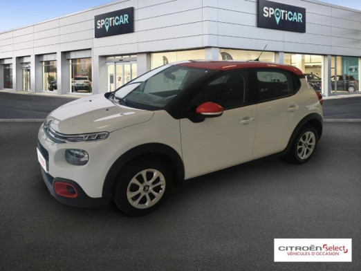 Used CITROEN C3 PureTech 82ch Feel Business 2018 Blanc Banquise - Rouge Aden € 12,290 in Mulhouse
