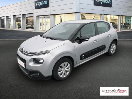 Occasion CITROEN C3 BlueHDi 75ch Feel Business S&S 2017 Gris clair 10 890 € à Mulhouse