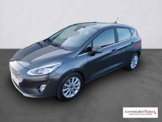 Occasion FORD Fiesta 1.0 EcoBoost 100ch Stop&Start Titanium 5p Euro6.2 2018 Gris Magnetic 12490 € à Mulhouse