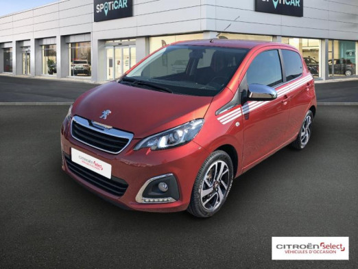 Occasion PEUGEOT 108 VTi 72 Collection S&S 85g 5p 2019 Red Purple 11690 € à Mulhouse