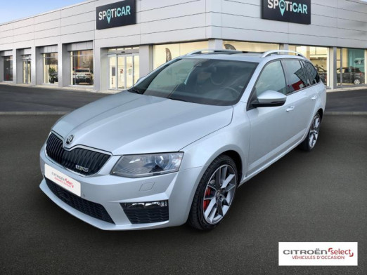 Used SKODA Octavia Break 2.0 TDI RS 184 XENON GPS TOIT OUVRANT CUIR 2015 Gris Argent € 19,690 in Mulhouse