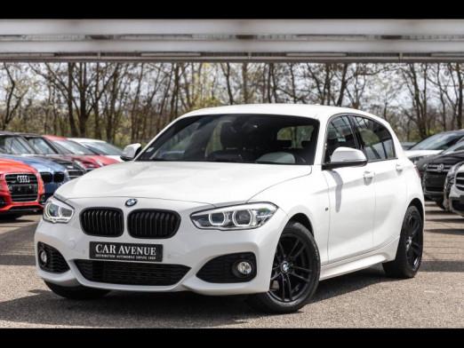 Occasion BMW Série 1 118iA 136ch M Sport 5p 2016 Blanc 20490 € à Saint-Louis
