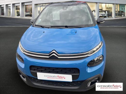 Used CITROEN C3 PureTech 110ch Shine S&S 2018 Cobalt blue (nacré) € 14,490 in Saint-Louis