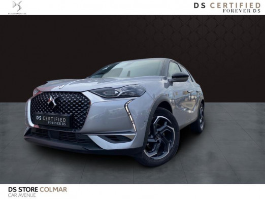 Used DS DS 3 Crossback ess 130 bva gps Grand Chic cuir 2020 Gris Artense (M) € 26,990 in Colmar