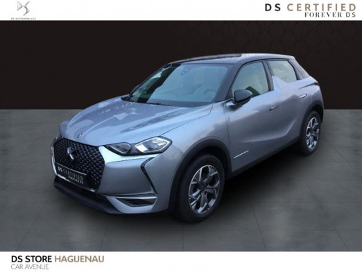 Occasion DS DS 3 Crossback ESSENCE 155 CV So Chic BOITE AUTOMATIQUE GPS 2018 Gris Artense (M) - Toit Diamond Red 25 490 € à Haguenau