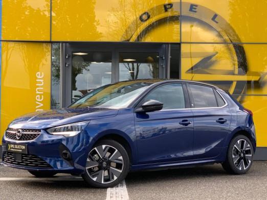 Used OPEL Corsa Corsa-e 136 Elegance Camera Radar av/ar Clim auto 2020 Bleu Nautique € 23,990 in Rosheim