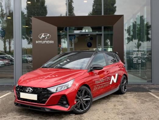 Occasion HYUNDAI i20 1.6 T-GDi 204ch N Gps Caméra Carplay Clim auto 2021 Dragon Red/Toit rétro Phantom Black 26990 € à Rosheim