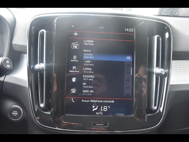 Occasion VOLVO XC40 D3 AdBlue 150ch Momentum Geartronic 8 2018 Gris 29990 € à Leudelange