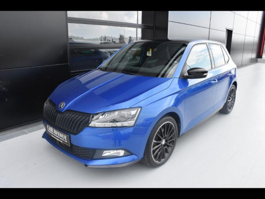 Occasion SKODA Fabia 1.0 TSI 110ch Monte Carlo 2020 Bleu Métal 16990 € à Leudelange