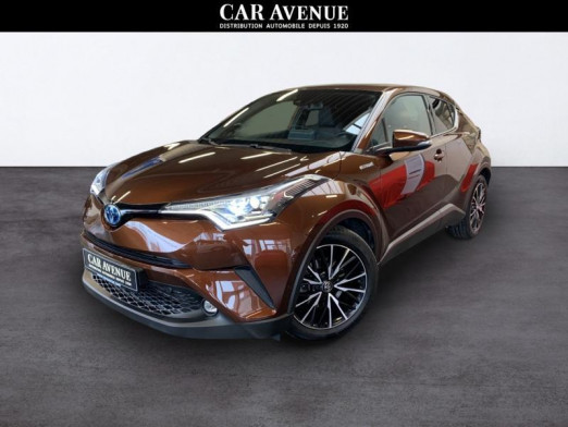 Used TOYOTA C-HR 1.8i VVT Hybride C-Ult Launch 2017 BROWN € 19,590 in Seraing