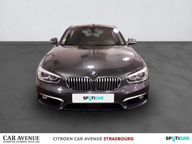 Occasion BMW Série 1 118dA 150ch UrbanChic 5p 2017 Mineralgrau metallic 19600 € à Strasbourg