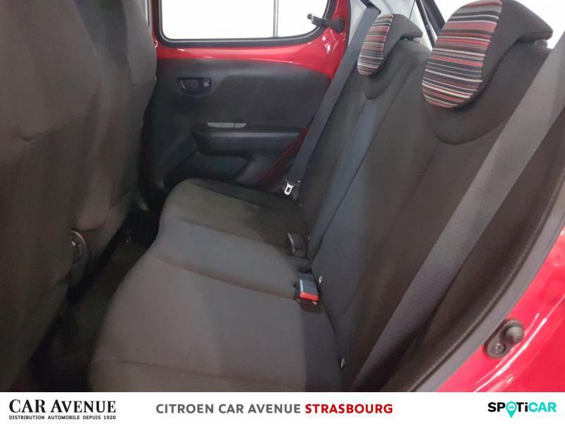 Occasion CITROEN C1 VTi 72 Feel 5p 2018 Rouge scarlet 9480 € à Strasbourg