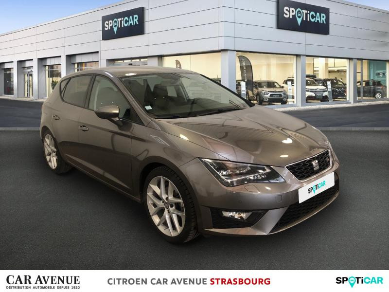 Occasion SEAT Leon 1.4 TSI 150ch ACT FR Start&Stop 2015 Gris Technic 14990 € à Strasbourg