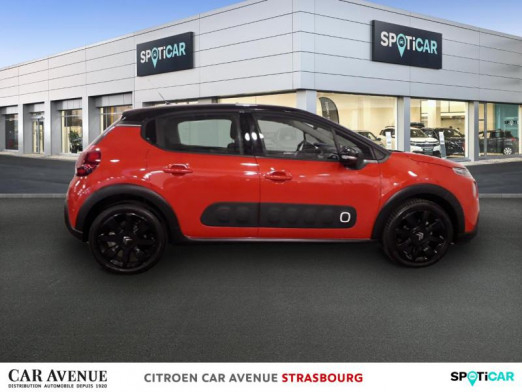 Occasion CITROEN C3 PureTech 110ch Shine S&S E6.d-TEMP 2018 Orange power (nacre) 13 900 € à Hoenheim