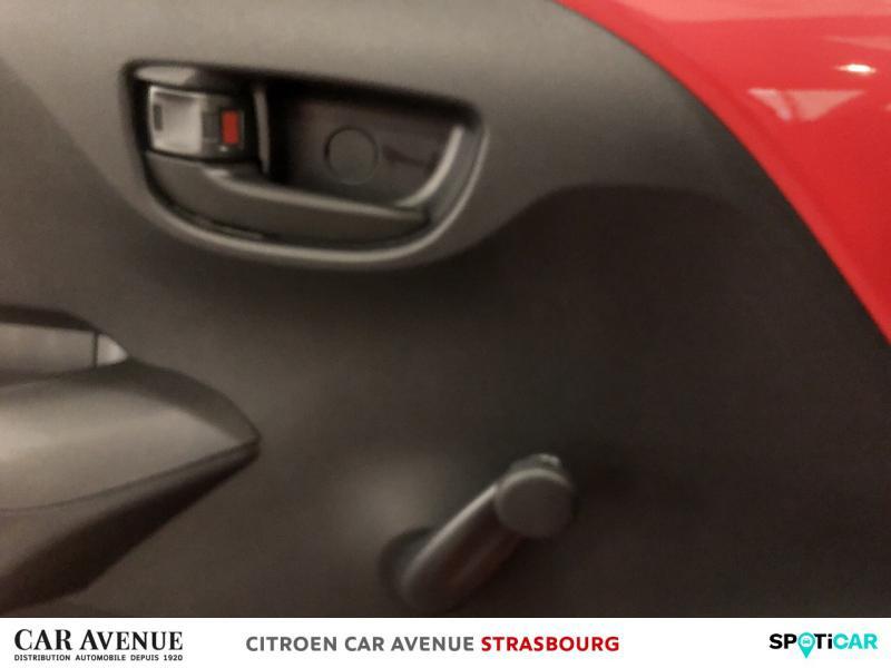 Occasion CITROEN C1 VTi 72 S&S Live 3p E6.d-TEMP 2019 Rouge Scarlet (O) 9700 € à Hoenheim