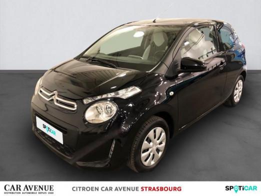 Used CITROEN C1 VTi 72 S&S Feel 3p E6.d-TEMP 2020 Noir Caldera (M) € 9,600 in Hoenheim