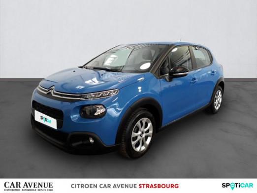 Used CITROEN C3 BlueHDi 100ch Feel S&S E6.d-TEMP 2018 Bleu € 10,900 in Hoenheim