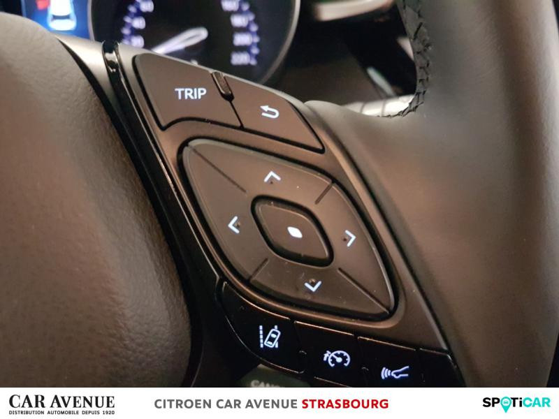 Occasion TOYOTA C-HR 122h Collection 2WD E-CVT 2018 Blanc Nacré bi-ton 23250 € à Hoenheim