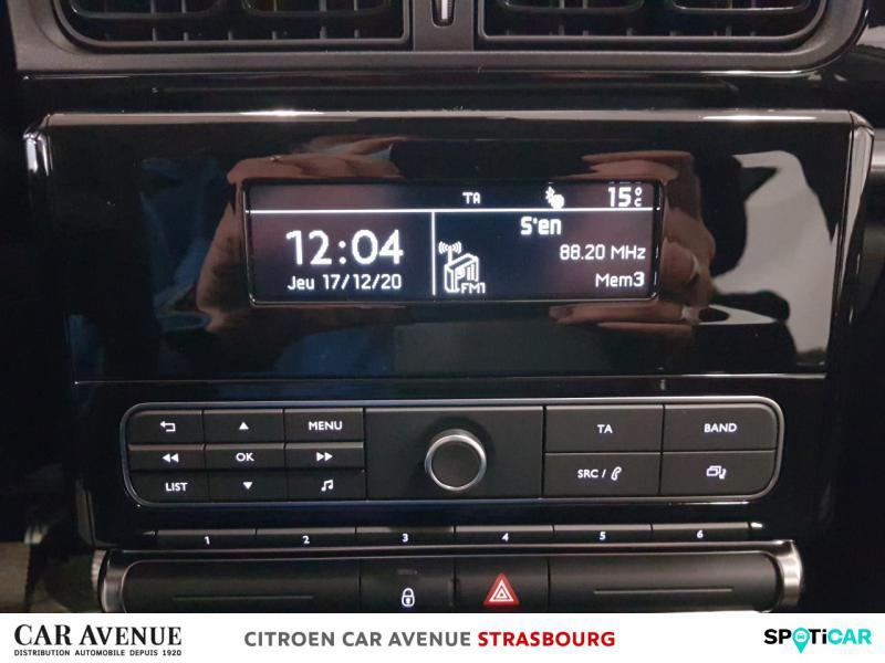 Occasion CITROEN C3 PureTech 110ch Feel S&S E6.d 2019 Blanc Banquise 14700 € à Hoenheim