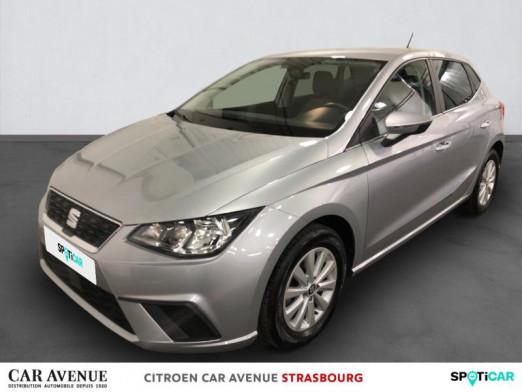 Occasion SEAT Ibiza 1.0 EcoTSI 95ch Start/Stop Style 2018 Gris Urbain 12600 € à Hoenheim