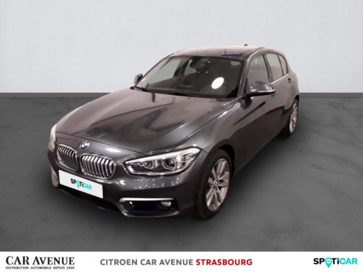 Occasion BMW Série 1 118dA 150ch UrbanChic 5p 2017 Mineralgrau metallic 19600 € à Hoenheim