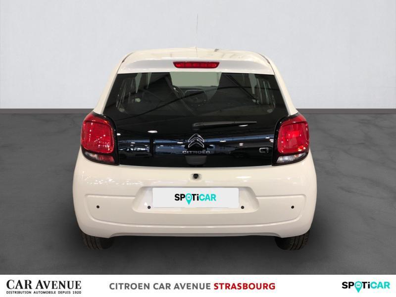 Occasion CITROEN C1 VTi 72 S&S Feel 5p E6.d 2020 Blanc Lipizan (O) 10250 € à Hoenheim