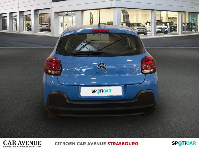 Occasion CITROEN C3 BlueHDi 100ch Feel S&S E6.d-TEMP BVM5 2019 Cobalt blue (nacre) 10990 € à Hoenheim