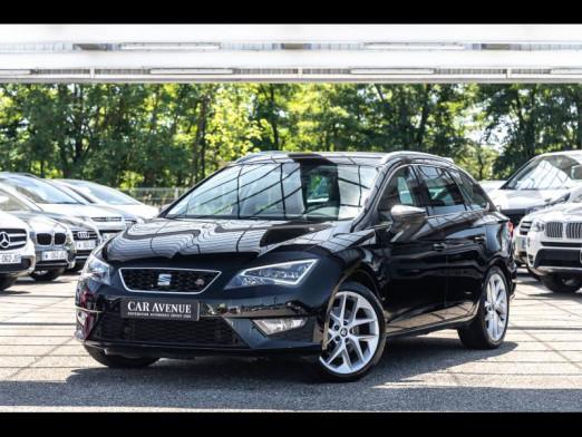 Occasion SEAT Leon ST 2.0 TDI 184 FR DSG Gps Led 1ère main Garantie 1 an 2014 Noir Minuit 16990 € à Sélestat