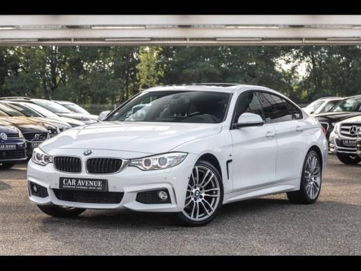 Occasion BMW Série 4 Gran Coupé 420dA xDrive 190 Pack M Toit Ouvrant Attelage HiFi HK Garantie 1 an 2015 Blanc 27490 € à Sélestat