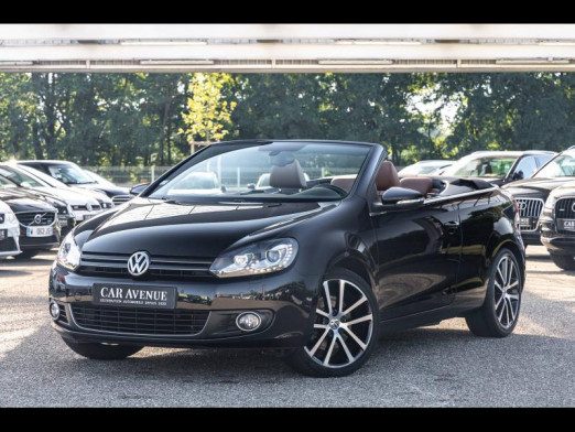 Occasion VOLKSWAGEN Golf Cabriolet 1.4 TSI 160 Xénon Gps CarPlay HiFi Dynaudio Garantie 6 mois 2013 Noir Intense / Capote Noire 15990 € à Sélestat