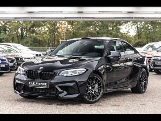 Occasion BMW M2 Coupé 3.0 410 Compétition Packs  Freins M  &  Expérience M  Première Main Garantie 12 Mois 2018 Saphirschwarz 61990 € à Sélestat