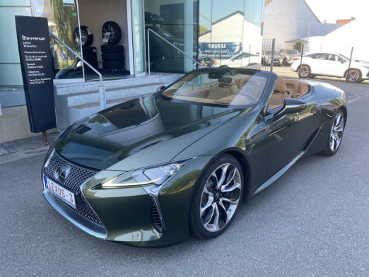 Used LEXUS LC 500 5.0 V8 10 A/T Cabriolet 2021 GREEN € 114,950 in Wavre
