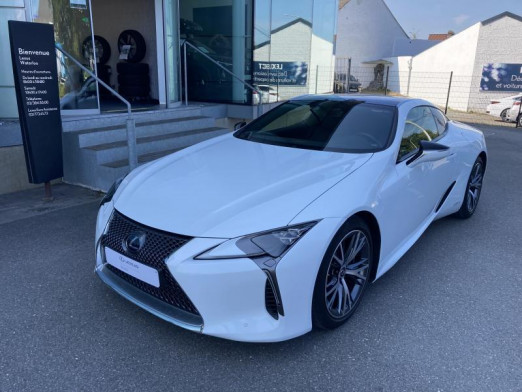 Used LEXUS LC 3.5 HYBRIDE Coupé 2019 WHITE € 72,900 in Wavre