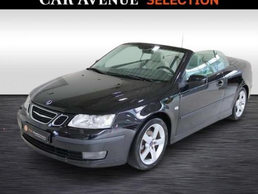 Occasion SAAB 9--3 2.0i 110 kW - NAVI Cabriolet 2005 BLACK 9990 € à Wavre